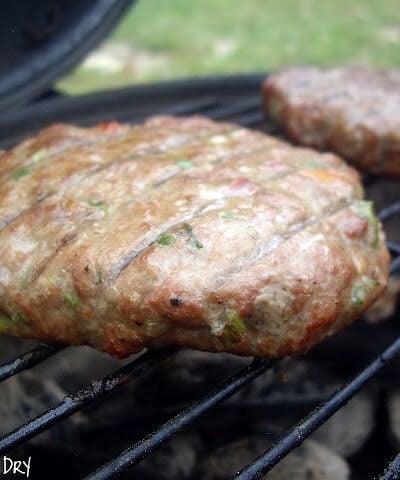 Smoked Garden Turkey Burgers