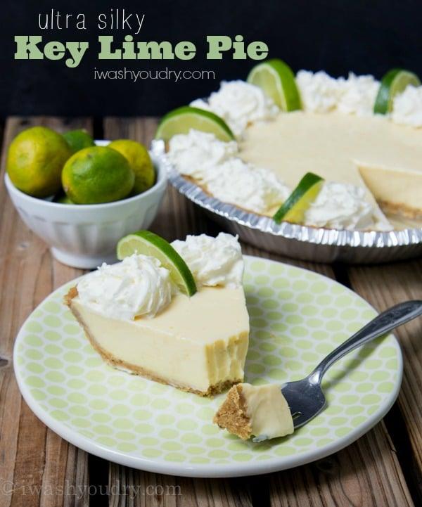 Key Lime Pie Recipe - I Wash... You Dry