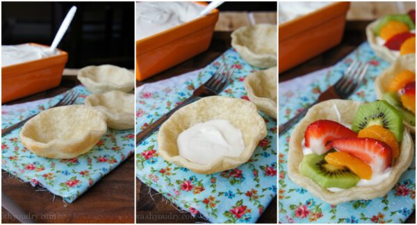 Easy Mini Fresh Fruit Pies!