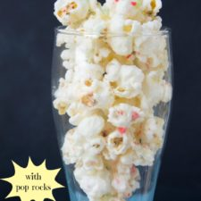 White Chocolate & Fireworks Popcorn