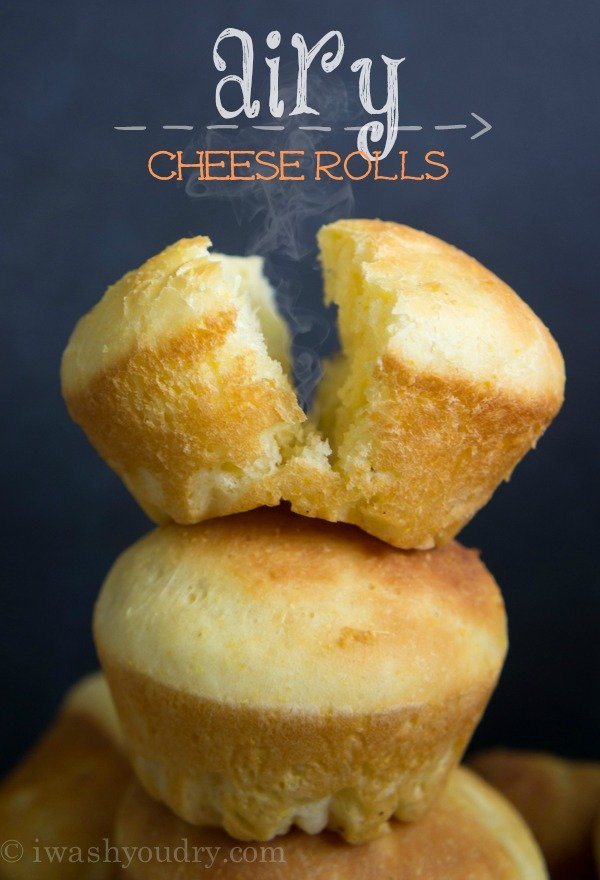 Airy Cheese Rolls