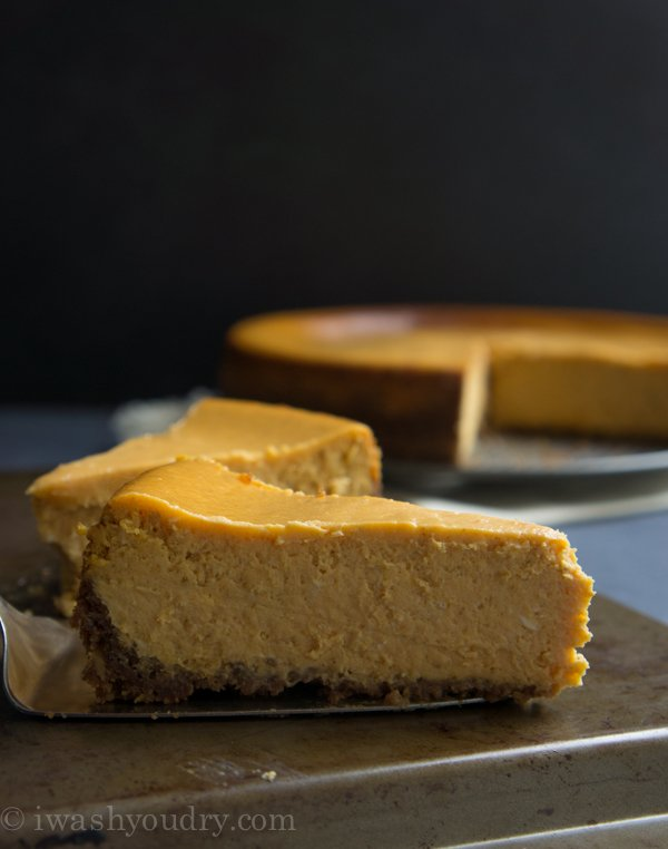 Pumpkin Cheesecake - I Wash... You Dry
