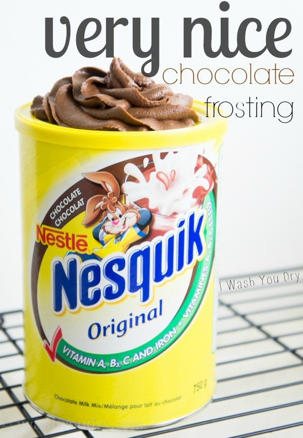 Very Nice Chocolate Frosting