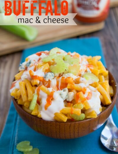 Buffalo Mac and Cheese