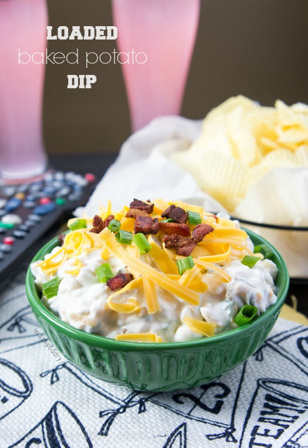 Easy Loaded Baked Potato Dip