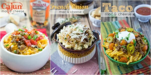 Spice up your box of Mac 'n Cheese!