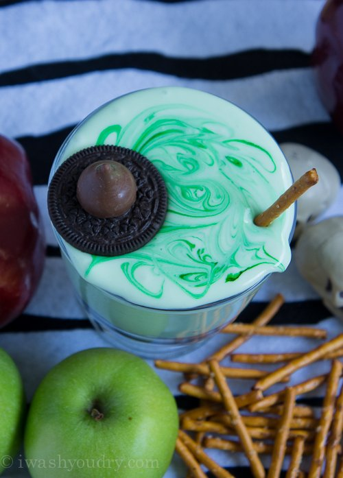Melted Witch (cream cheese) Fruit Dip