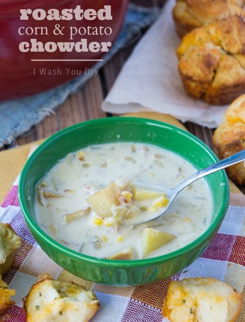Roasted Corn and Potato Chowder