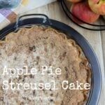 Apple Pie Streusel Cake