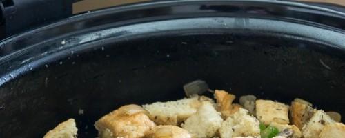 Crock Pot Sausage Stuffing