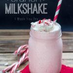 Candy Cane Crunch Milkshake