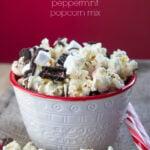 Peppermint Popcorn Mix