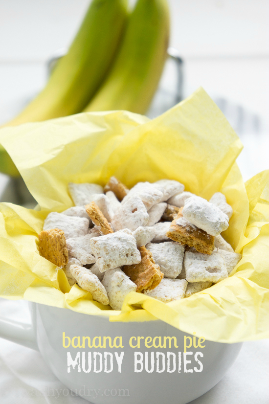 Banana Cream Pie Muddy Buddies