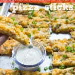 Chicken Bacon Ranch Pizza Sticks