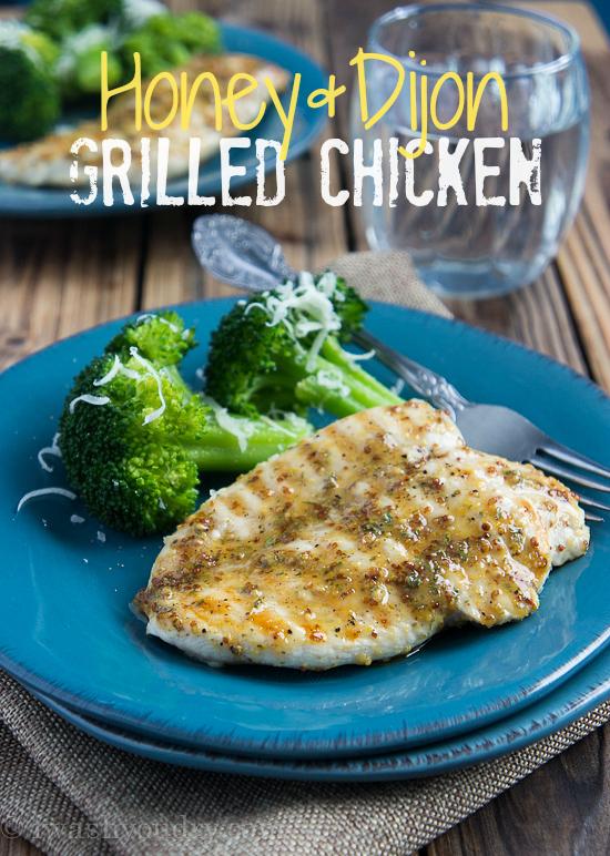 Honey Dijon Grilled Chicken