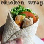 McDonald's CopyCat Sweet Chili Chicken Wrap