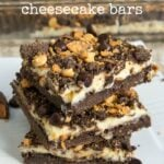 Butterfinger Cheesecake Bars