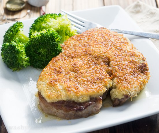 Parmesan Crusted Steaks
