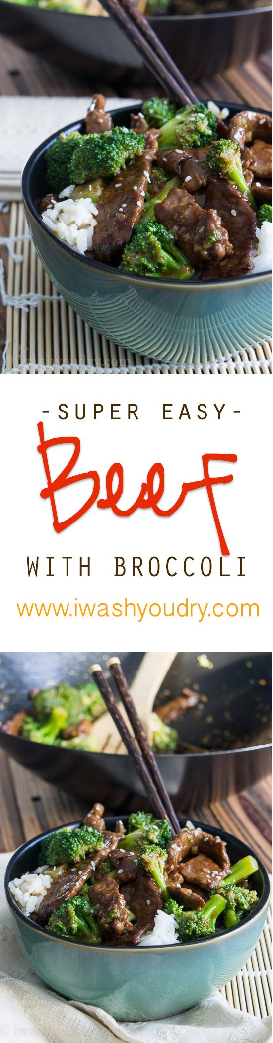 Love this super easy Beef with Broccoli, it's a family favorite!