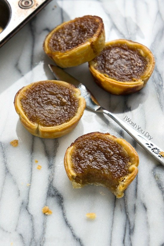 Brown Butter Maple Tarts