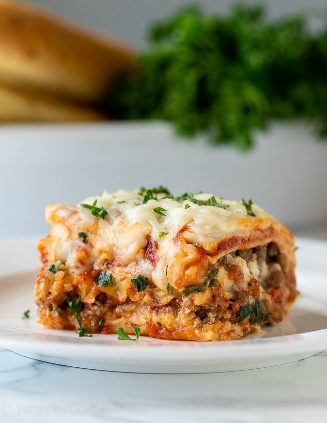 Classic Lasagna Recipe I Wash You Dry