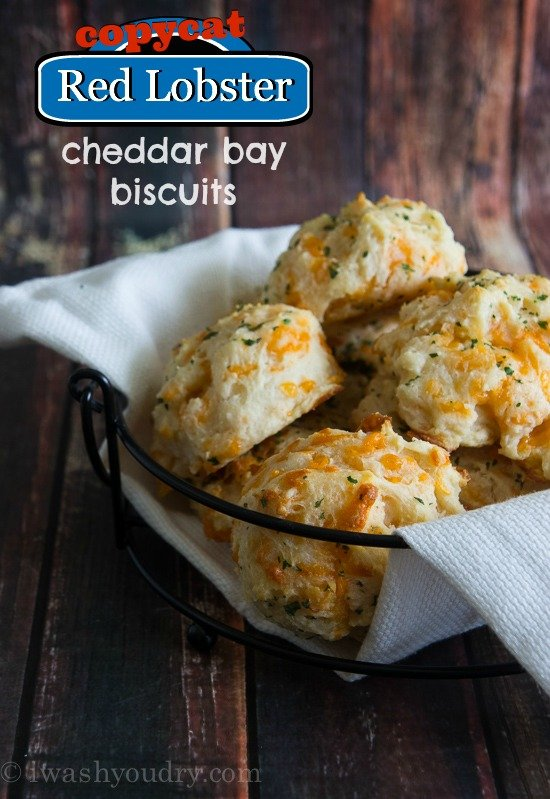 Copycat Red Lobster Cheddar Bay Biscuits | I Wash You Dry
