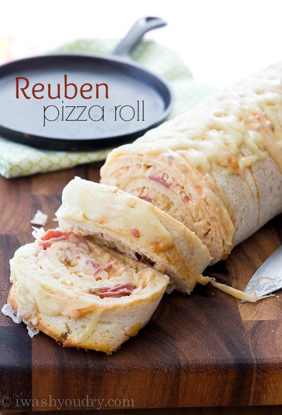 Reuben Pizza Roll