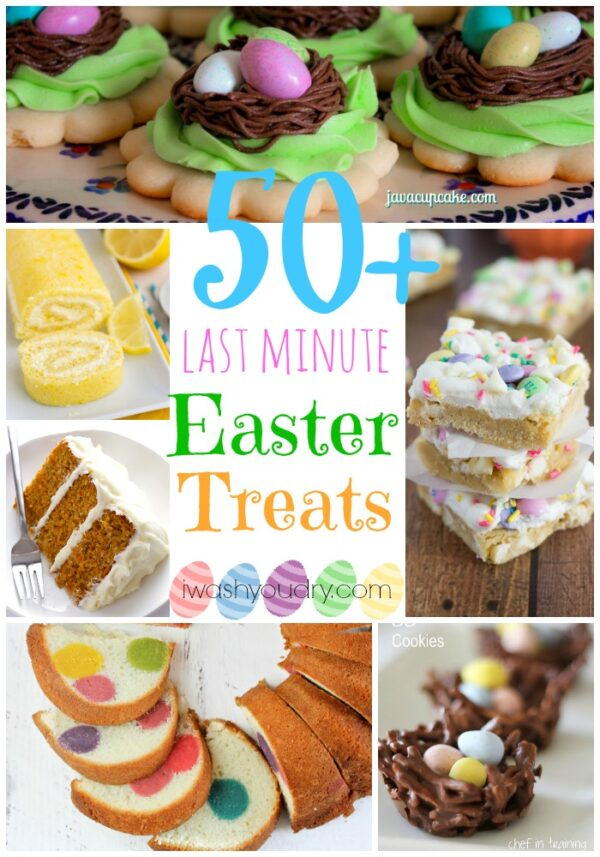 50 Last Minute Easter Treats