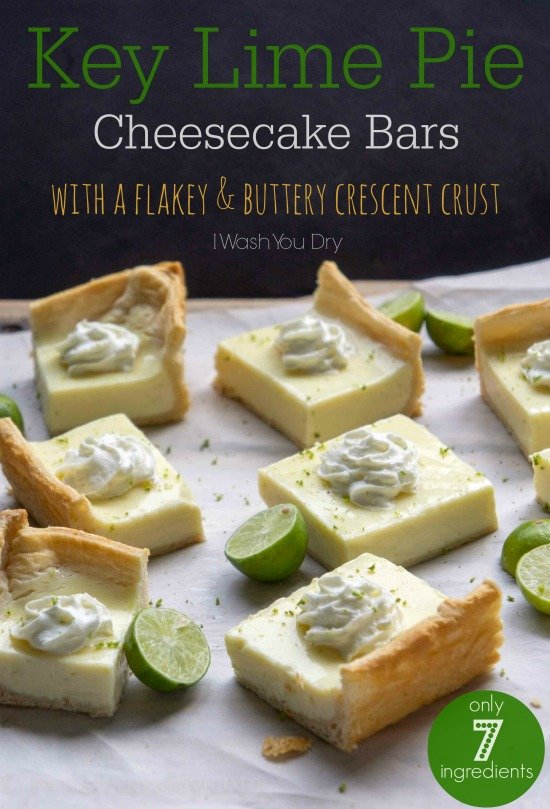 Key Lime Pie Cheesecake Bars