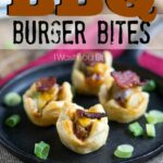 BBQ Burger Bites