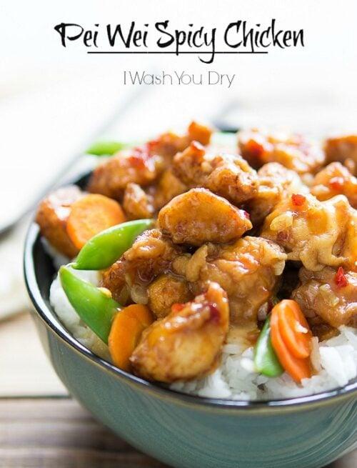 Pei Wei Spicy Chicken