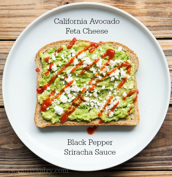 California Avocado Toasts - 4 Ways!!!