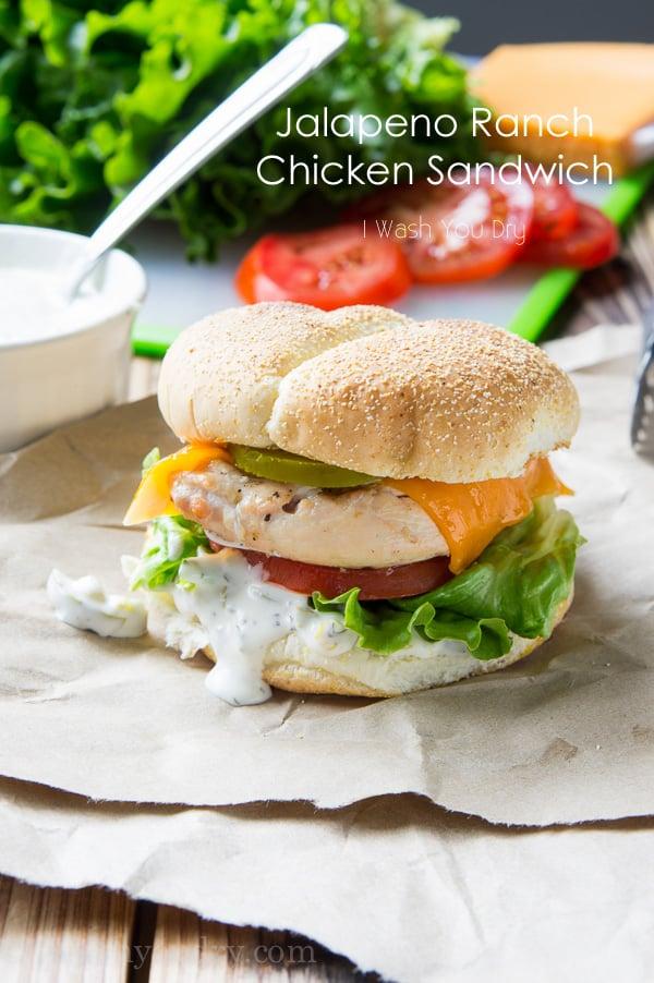 Jalapeño Ranch Chicken Sandwich