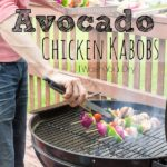 Avocado Chicken Skewers!