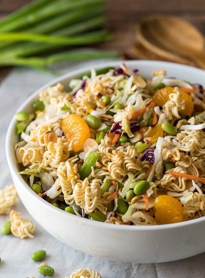 Classic Asian Ramen Salad I Wash You Dry
