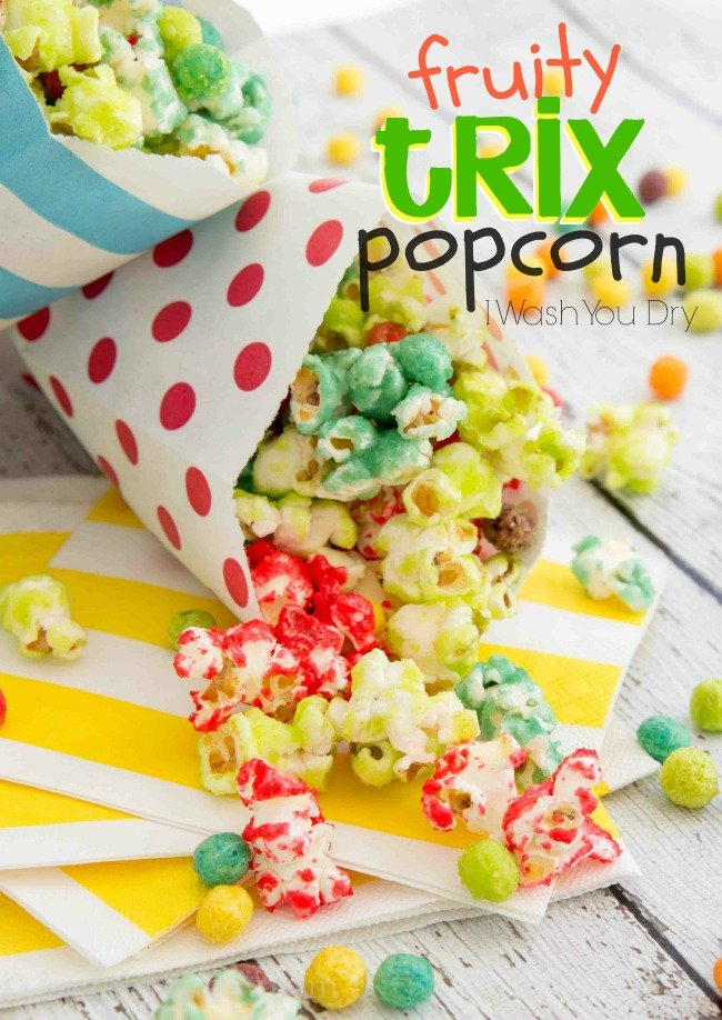 Fruity Trix Popcorn