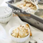 Pralines and Cream Ice Cream Recipe (no eggs & super easy!)