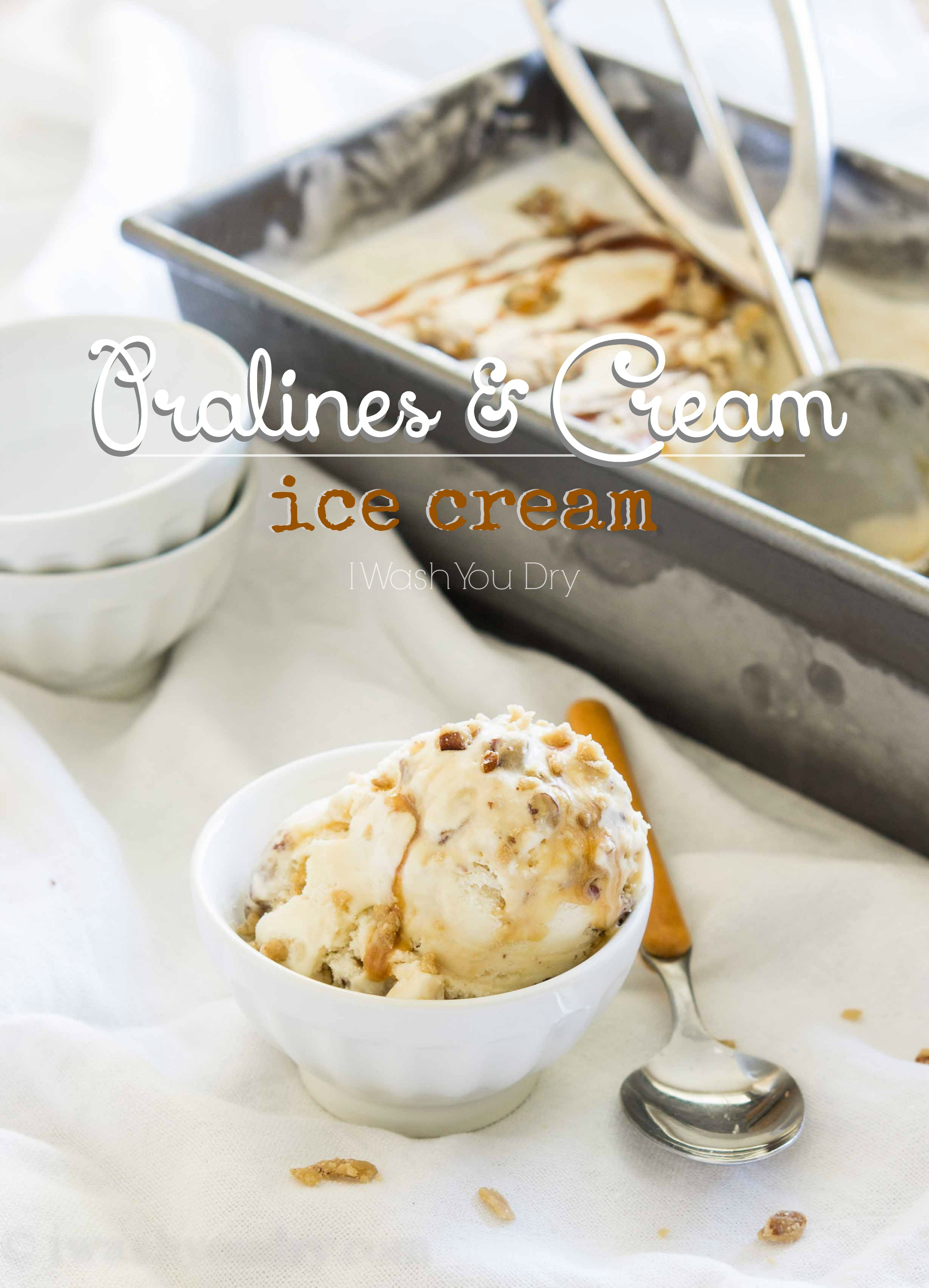 Pralines and Cream Ice Cream Recipe