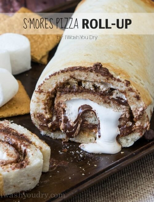 S'mores Pizza Roll-Up!!