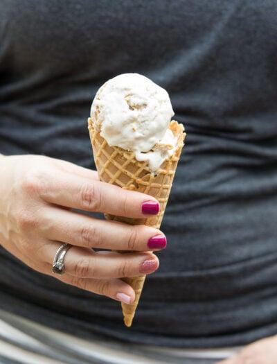 Snickerdoodle Cheesecake Ice Cream