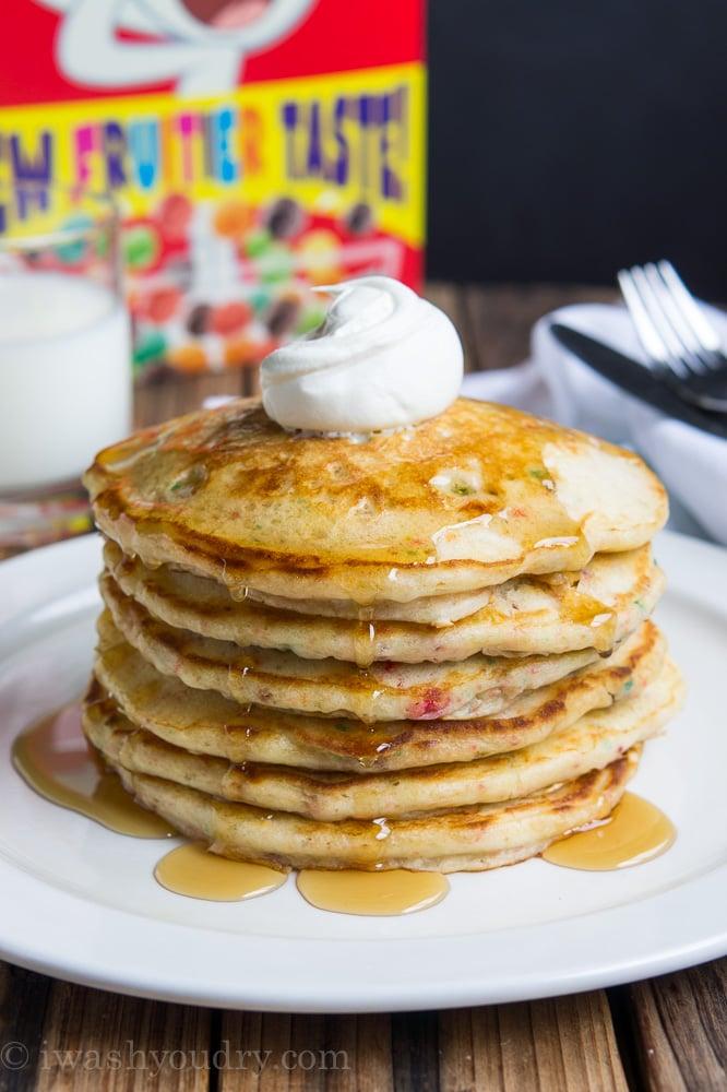 Trix Pancakes
