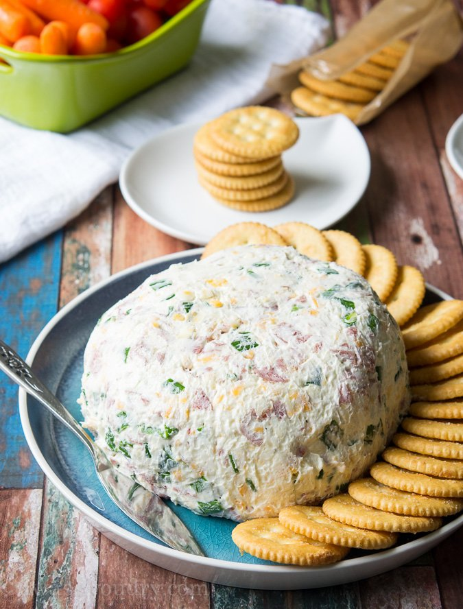 Salami Cream Cheese Ball