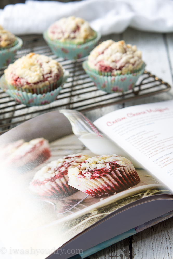 Red Velvet Cream Cheese Muffins