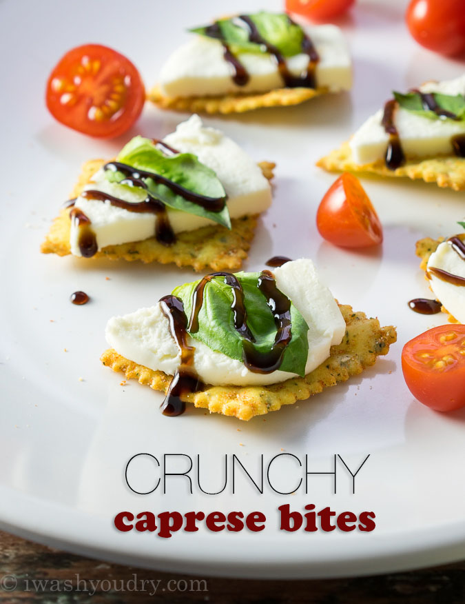 Crunchy Caprese Bites