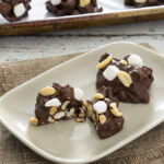 Rocky Road Pie Crust Clusters