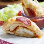 Chicken Parmesan Pizza Sliders