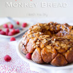Raspberry Cheesecake Monkey Bread