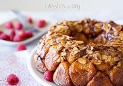 Raspberry Cheesecake Monkey Bread