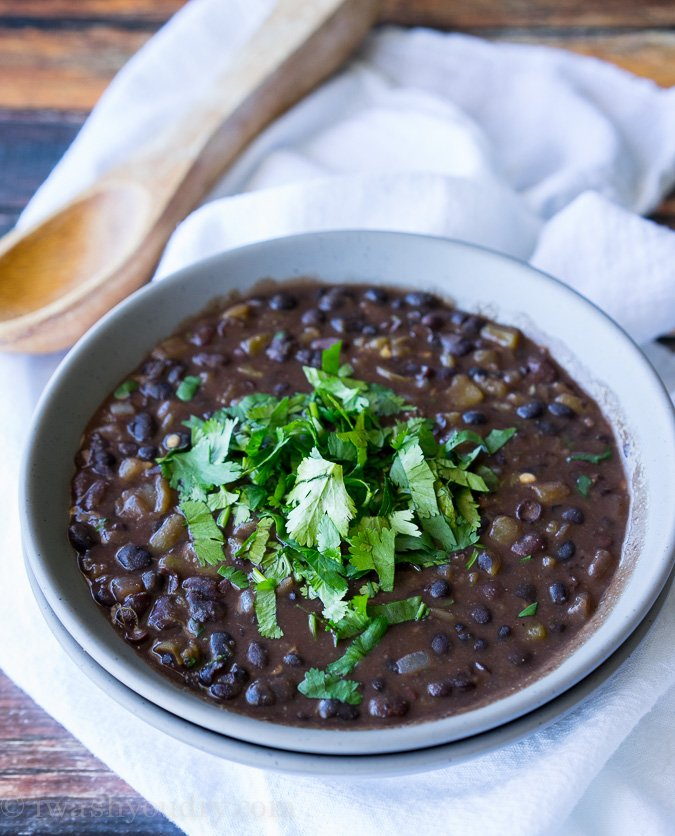 The Best Black Beans Recipe