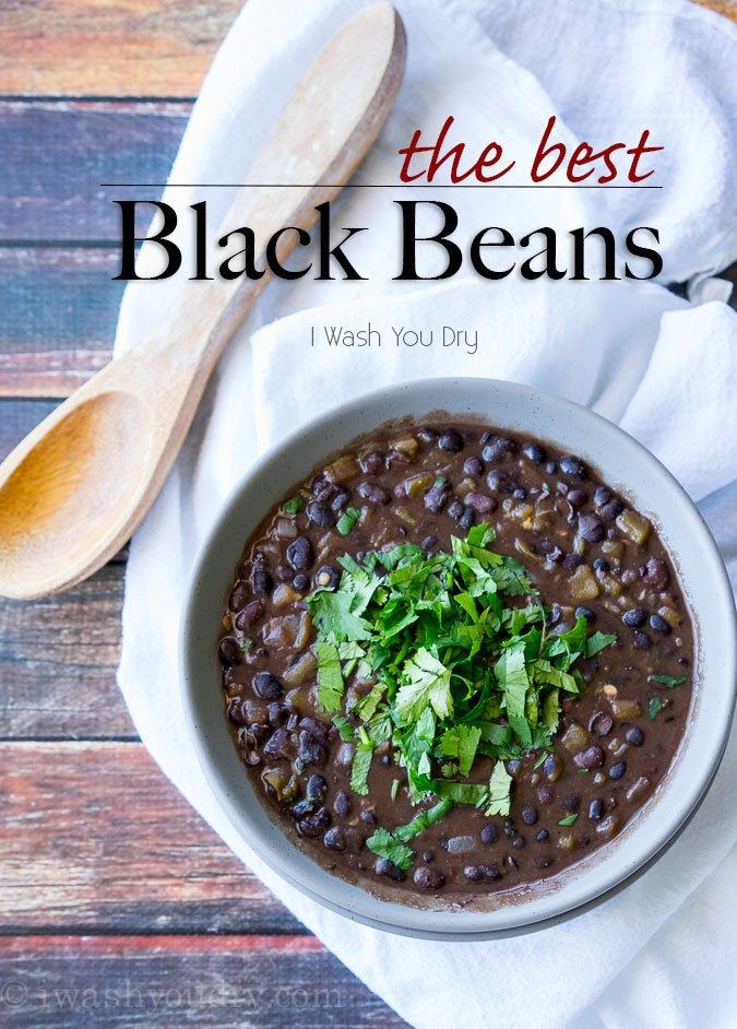 The Best Black Beans Recipe